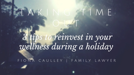 Taking time out-2